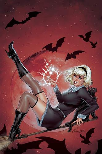 SABRINA SOMETHING WICKED #1 CHATZOUDIS COLLECTOR CAVE VIRGIN VARIANT SIGNED