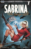 SABRINA SOMETHING WICKED #1 CHATZOUDIS COLLECTOR CAVE 2 PACK VARIANT SET