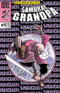 SAMURAI GRANDPA #1 SHAWN DALEY COLLECTOR CAVE VARIANT