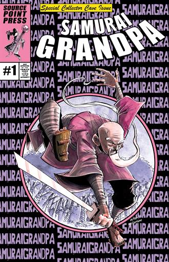 SAMURAI GRANDPA #1 SHAWN DALEY COLLECTOR CAVE VARIANT - Collector Cave