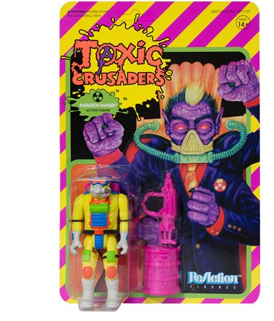 TOXIC CRUSADERS RADIATOIN RANGER 3/4 REACTION FIGURE