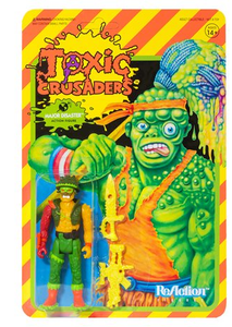 TOXIC CRUSADERS MAJOR DISASTER  3-3/4 REACTION FIGURE