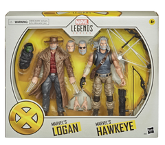 MARVEL LEGENDS - HAWKEYE & LOGAN