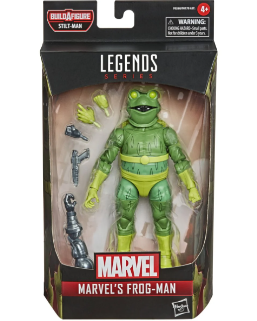 Marvel Legends - Into The Spider Verse - Frog Man Action Figure (FEB/MAR 2021)