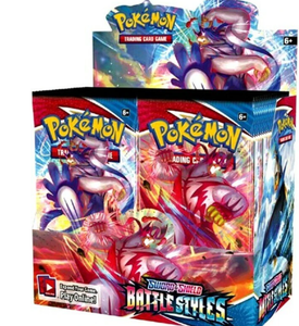 POKEMON TCG: SWORD & SHIELD BATTLE STYLES BOOSTER BOX (SHIPS MARCH 2021)
