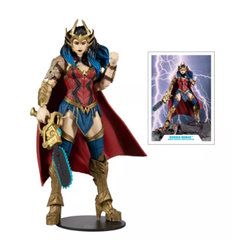 DARK KNIGHTS: WONDER WOMAN DEATH METAL BUILD A FIGURE (JUNE 2021)