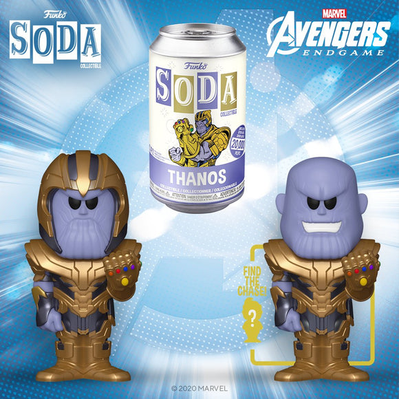 VINYL SODA - AVENGERS ENDGAME - THANOS (Ship Date TBD)
