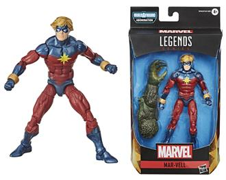 MARVEL LEGENDS: AVENGERS VIDEO GAME MAR-VELL - WAVE 1
