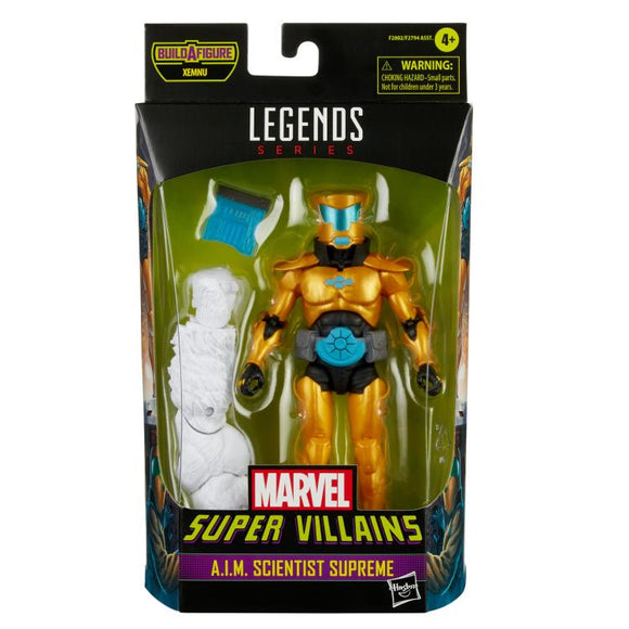 MARVEL LEGENDS - SUPER VILLAINS WAVE 1 - A.I.M. SCIENTIST SUPREME (AUGUST 2021)