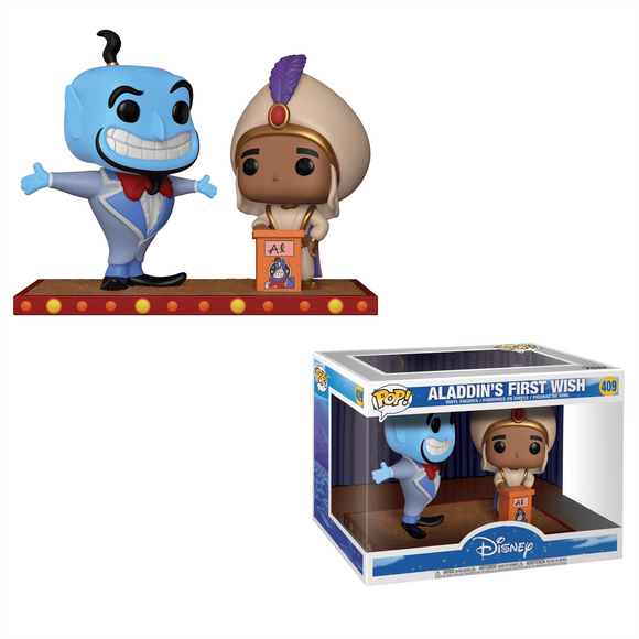 Funko Pop! Aladdin - Movie Moment - Aladdin's First Wish - Collector Cave