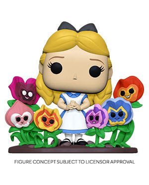 Funko Pop! Deluxe - Alice In Wonderland 70th Anniversary - Alice In Flowers (Ships TDB)
