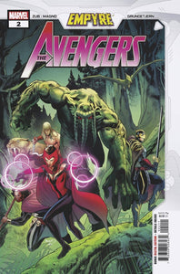 EMPYRE AVENGERS #2 (OF 3) - Collector Cave