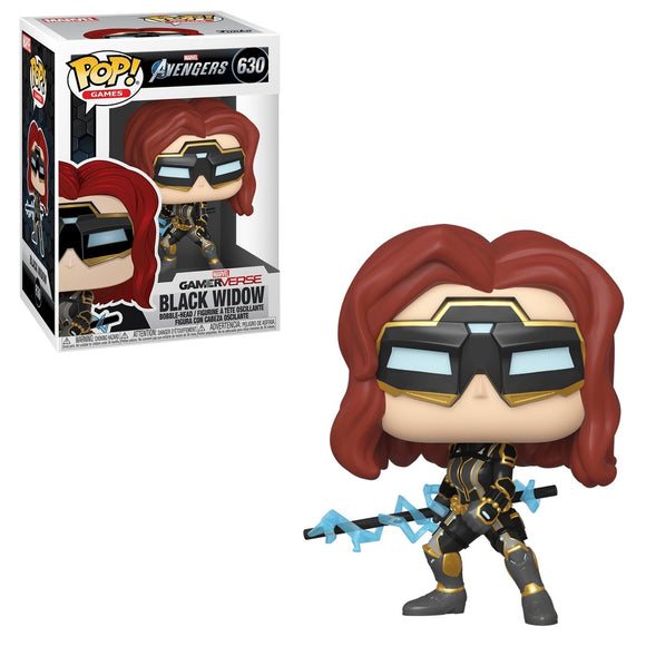 Funko Pop! Marvel's The Avengers Game - Black Widow