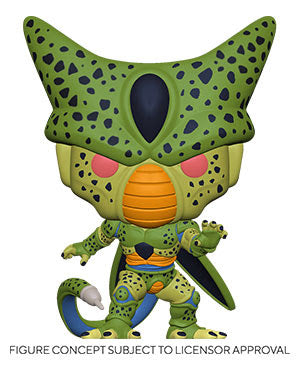 Funko Pop! Dragon Ball Z Wave 9 - Cell Base Form (SHIPDATE TBA)