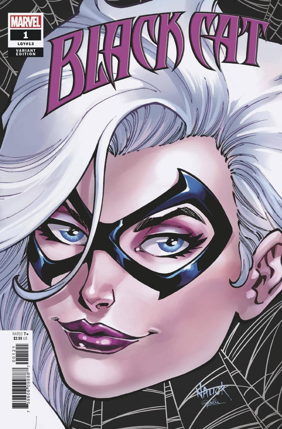 BLACK CAT #1 NAUCK HEADSHOT VAR KIB