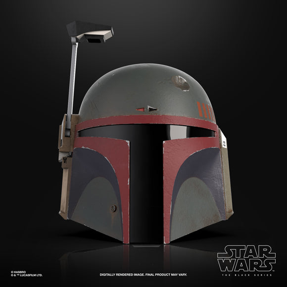 STAR WARS - BLACK SERIES MANDALORIAN - BOBA FETT HELMET (FALL 2021)
