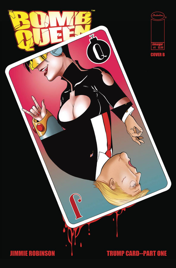 BOMB QUEEN TRUMP CARD #1 (OF 4) CVR B ROBINSON (MR)