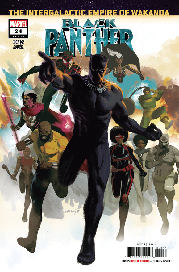 BLACK PANTHER #24 - Collector Cave
