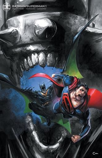 BATMAN SUPERMAN #1 CRAIN VIRGIN VARIANT