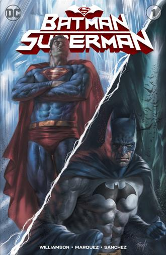 BATMAN SUPERMAN #1 PARRILLO VARIANT