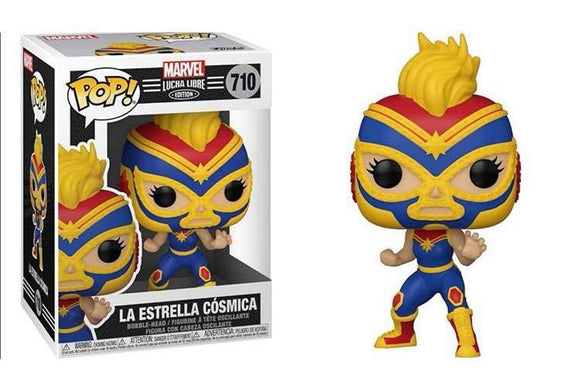Funko Pop! Marvel Luchadores - Captain Marvel (Ships December 2020)