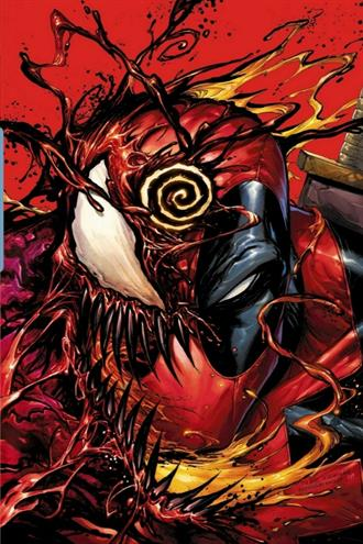 ABSOLUTE CARNAGE VS DEADPOOL #1 KIRKHAM VIRGIN VARIANT