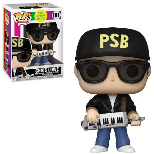 Funko Pop! Pet Shop Boys - Chris Lowe (Ships November 2020)