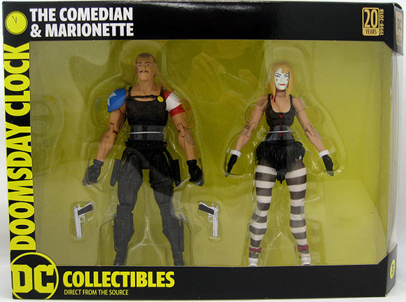 Doomsday Clock - Comedian and Marionette 2 Pack