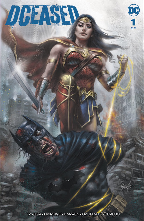 DCEASED #1 (OF 6) PARRILLO VARIANT