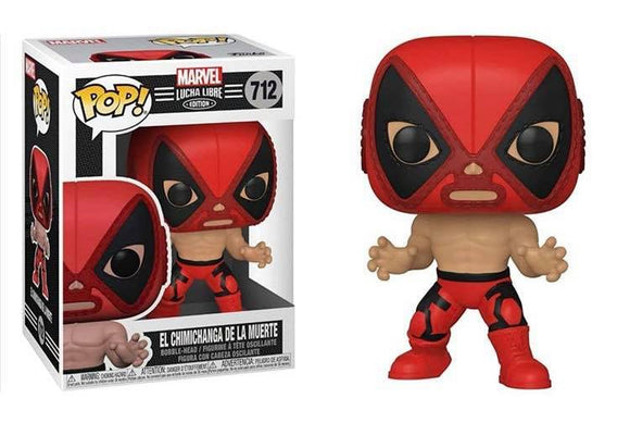 Funko Pop! Marvel Luchadores - Deadpool (Ships December 2020)