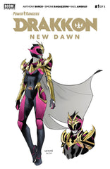 POWER RANGERS DRAKKON NEW DAWN #1 (2ND PTG)