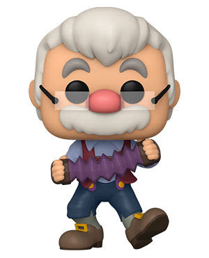 Funko Pop! Pinocchio - Geppetto w/Accordion (Ships March 2021)