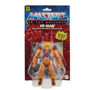 MASTERS OF THE UNIVERSE ORIGINS - HE-MAN FIGURE (MAY 2021)