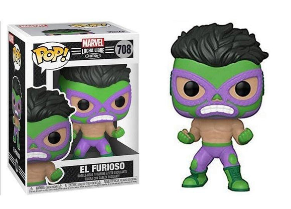 Funko Pop! Marvel Luchadores - Hulk (Ships December 2020)