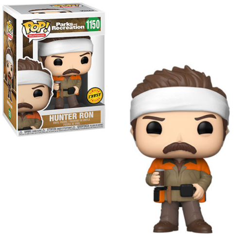 Funko Pop! Parks & Recreation Wave 2 - Hunter Ron Chase (Est Ship Date July 2021)
