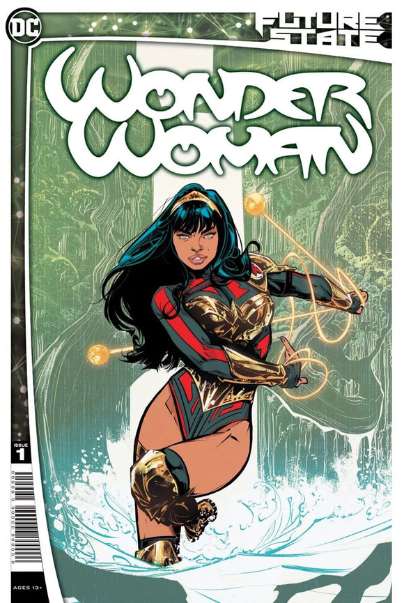 FUTURE STATE WONDER WOMAN #1 1ST APP TV SERIES YARA COVER