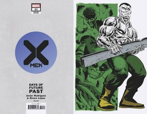 X-MEN #11 RODRIGUEZ DAYS OF FUTURE PAST VAR EMP