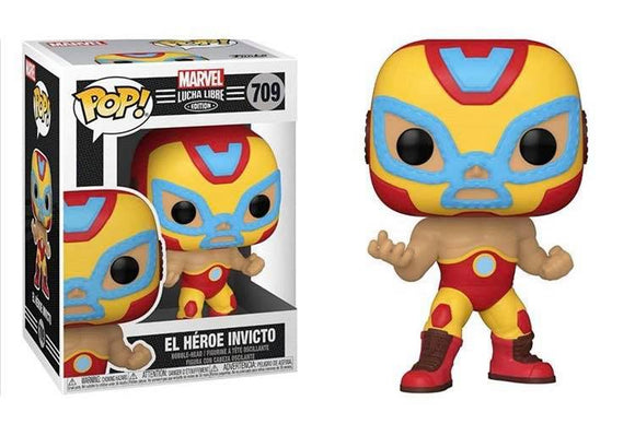 Funko Pop! Marvel Luchadores - Iron Man (Ships December 2020)