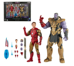 MARVEL LEGENDS - THE INFINITY SAGA - IRON MAN 85 VS THANOS (EST SHIP DATE AUG/SEPT 2021)