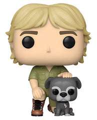 Funko Pop! Crocodile Hunter - Steve Irwin with Sui (Ships April 2021)