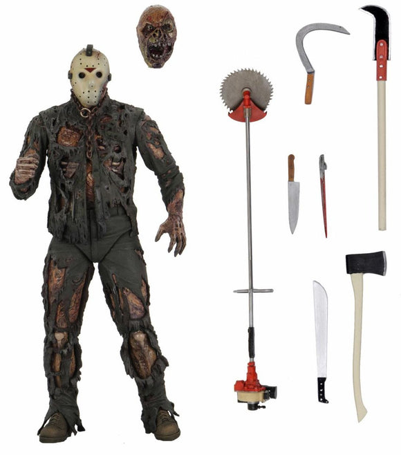 NECA - FRIDAY THE 13TH - Ultimate PART 7 (NEW BLOOD) JASON