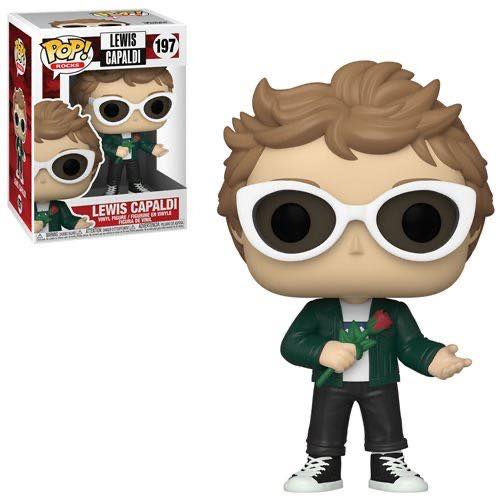 Funko Pop! Rocks - Lewis Capaldi (Ships Mid-December 2020)