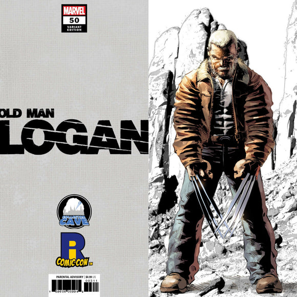 OLD MAN LOGAN #50 RICC 2018 DEODATO COLLECTOR CAVE VIRGIN VARIANT