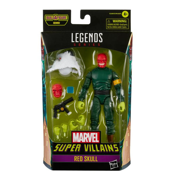 MARVEL LEGENDS - SUPER VILLAINS WAVE 1 - RED SKULL (AUGUST 2021)