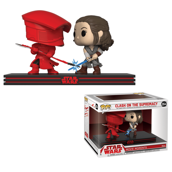 Funko Pop! Star Wars The Last Jedi - Rey Vs Praetorian Guard - Collector Cave