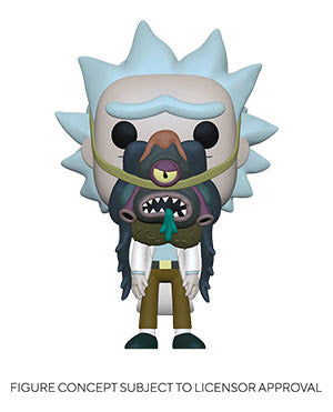 Funko Pop! Rick & Morty - Rick w/ Glorzo (Ships May 2021)