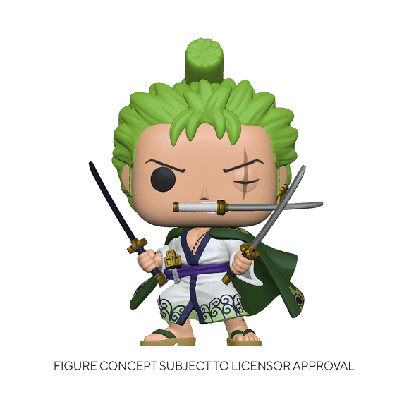 Funko Pop! One Piece - Roronoa Zoro (Ships April 2021)