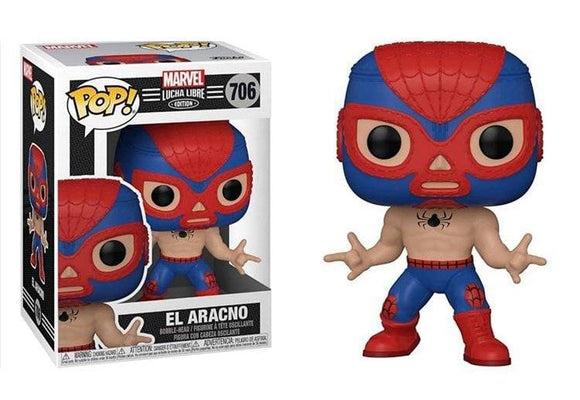 Funko Pop! Marvel Luchadores - Spider-Man (Ships December 2020)