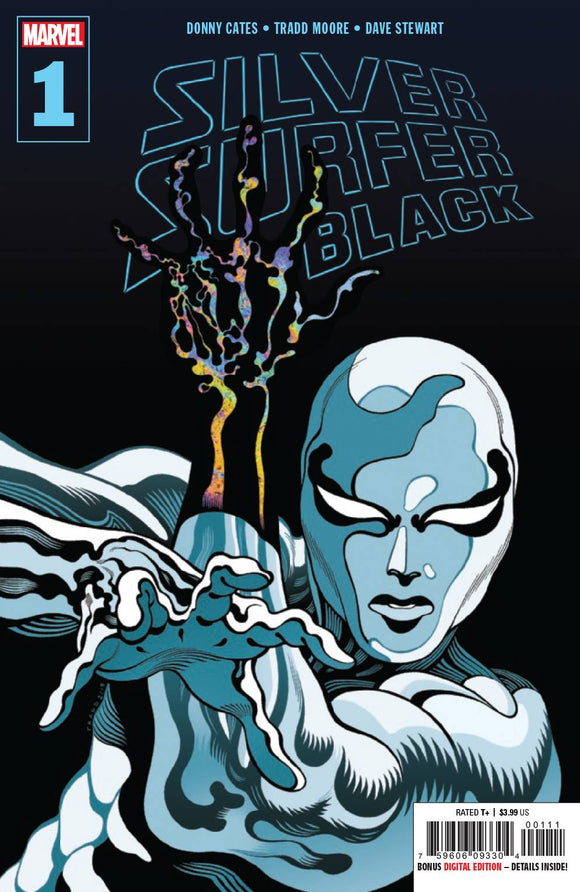 SILVER SURFER BLACK #1 DELL'OTTO VARIANT