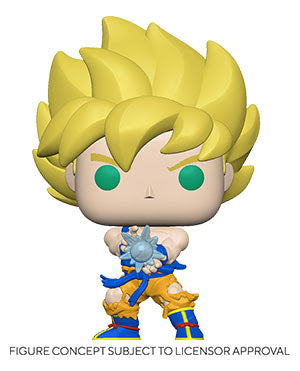 Funko Pop! Dragon Ball Z Wave 9 - Super Saiyan Goku (Kamehameha) (SHIPDATE TBA)